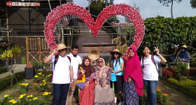 Taman Begonia Lembang, Wisata Murah di Bandung